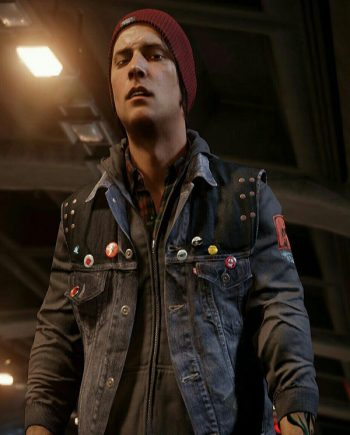 Delsin Rowe Vest With Hood
