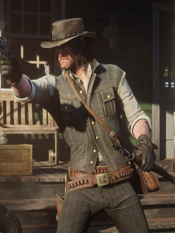 John Marston Red Dead Redemption Vest