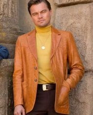 Leonardo DiCaprio Once Upon a Time in Hollywood Coat