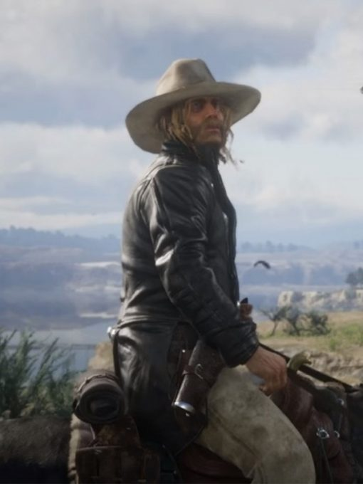 Red Dead Redemption 2 Micah Bell Jacket