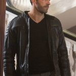 Accident Man Mike Fallon Leather Jacket