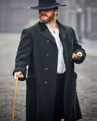 Tom Hardy Peaky Blinders Alfie Solomons Wool Coat