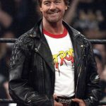 Wrestler Roddy Piper WWE Leather Jacket