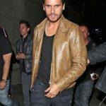 Scott Disick Leather Jacket