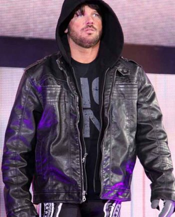 AJ Styles Leather Jacket