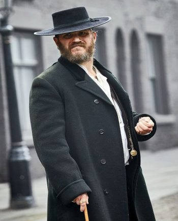 Peaky Blinders Tom Hardy Woolen Coat.