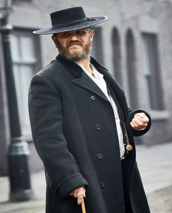 Peaky Blinders Tom Hardy Woolen Coat.