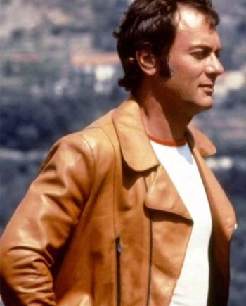 The Persuaders Danny Wilde Brown Jacket