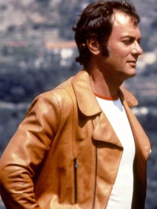 The Persuaders Danny Wilde Brown Jacket