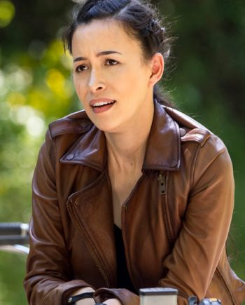 The Walking Dead S09 Rosita Espinosa Jacket