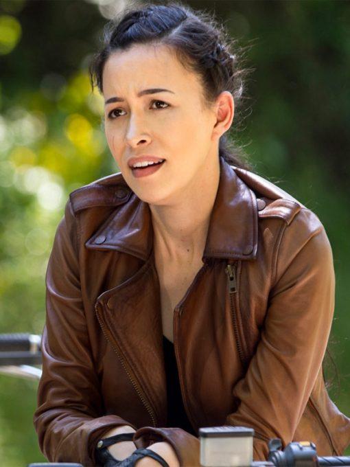 The Walking Dead S09 Rosita Espinosa Jacket
