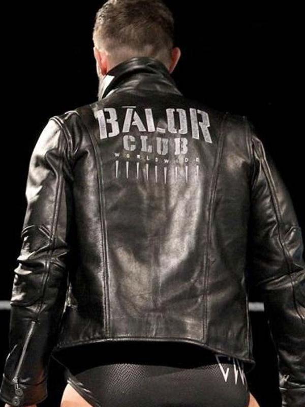 WWE Finn Balor Leather Jacket