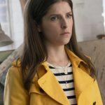 Anna Kendrick Yellow Leather Jacket