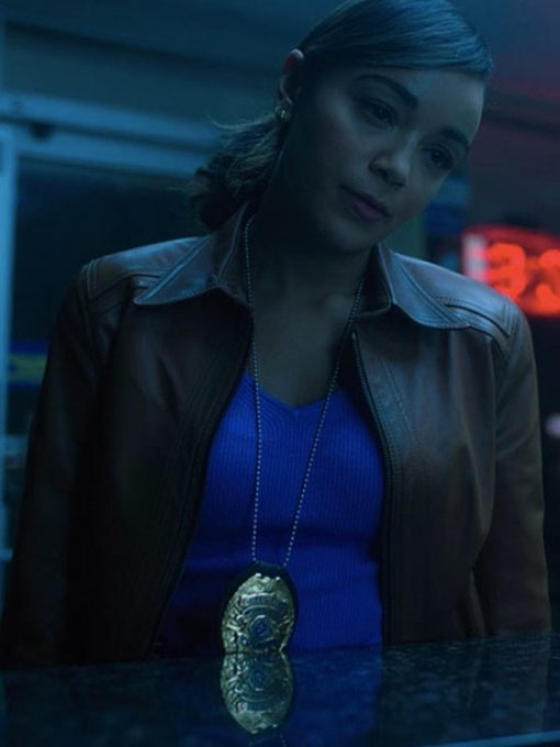 The Umbrella Academy Emmy Raver-Lampman Leather Jacket
