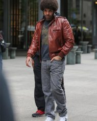 Anchorman 2 The Legend Continues Brown Leather Drake Jacket