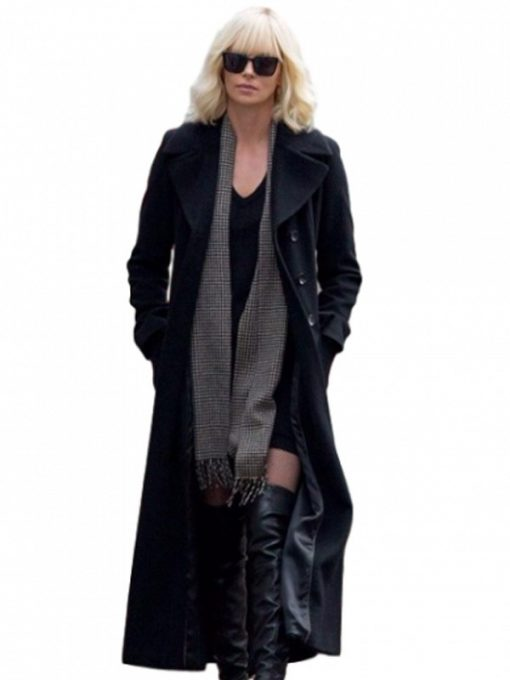 Charlize Theron Atomic Blonde Coat