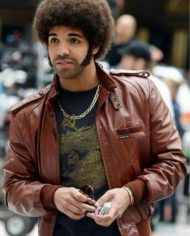 Aubrey Graham Anchorman 2 Drake Jacket