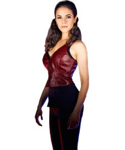 Anna Silk Lost Girl Red Vest
