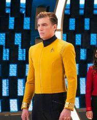 Captain Pike Star Trek Yellow Jacket