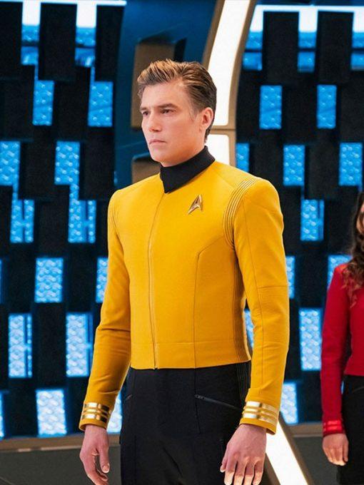 Anson Mount Star Trek Uniform Jacket