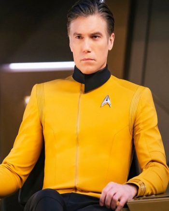 Anson Mount Star Trek Discovery Captain Pike Jacket
