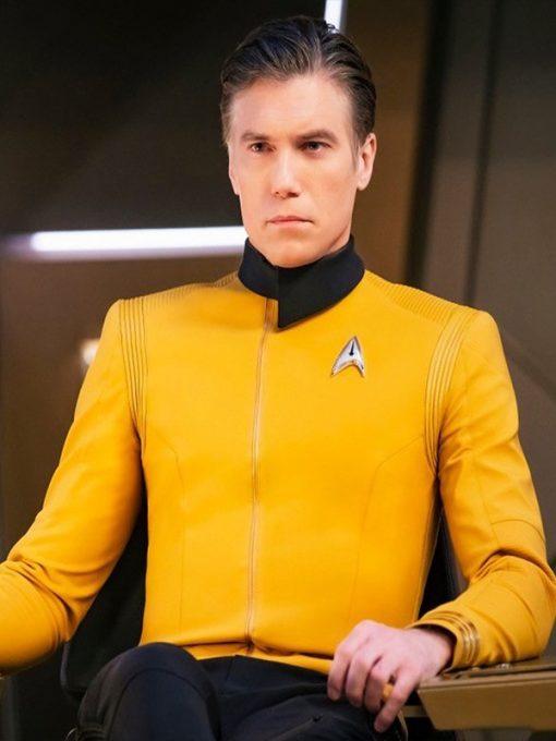 Anson Mount Star Trek Discovery Captain Pike Jacket