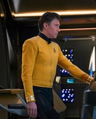 Star Trek Discovery Christopher Pike Yellow Uniform Jacket