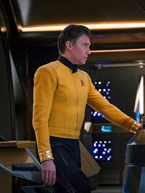 Christopher Star Trek Yellow Jacket